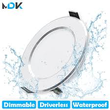 LED Downlight Dimmable 5W <b>7W 9W 12W 15W</b> Waterproof Warm ...