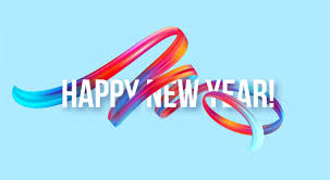 <b>2019 new</b> year banner with a colorful brushstroke oil or <b>acrylic</b> paint ...