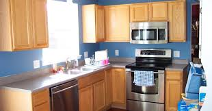 painted blue kitchen cabinets house: home interior renovate your home design studio with cool ellegant dark blue kitchen cabinets and