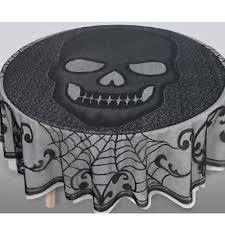 <b>Skull Lace</b> Black <b>Skeleton Halloween Party</b> Decoration Fabric ...