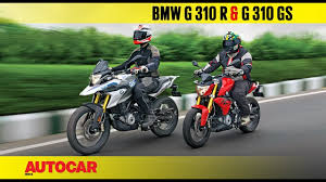 BMW <b>G 310 R</b> and G 310 GS | First Ride Review | Autocar India ...