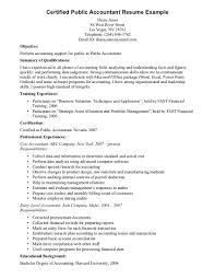 accounting resume example examples of accounting resumes examples of accounting resumes