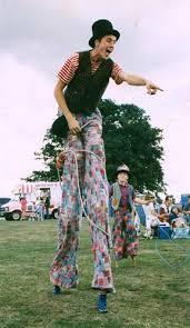 Image result for stilt walkers