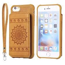 iPhone 8 Case,iPhone 7 Case,DAMONDY <b>Luxury Flower Sunflower</b> ...