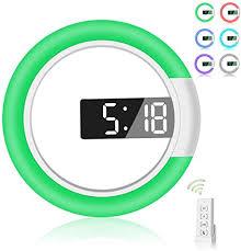 AGEK <b>LED</b> Wall Clock, Remote Control <b>Digital</b> Wall Clock <b>Creative</b> ...