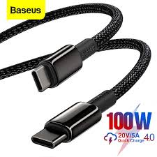 <b>Baseus</b> 100W USB C To USB Type C Cable USB C Fast Charge ...