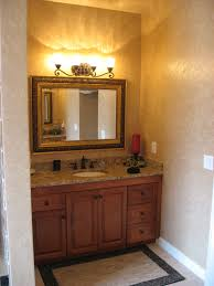 wooden bathroom vanity awesome design featuring  without replacing the vanities the height was raised and granite adde