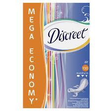 <b>Прокладки ежедневные Discreet</b> Air ультратонкие, 100 шт ...