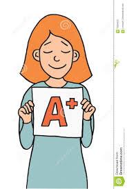 good grade cartoon girl stock vector image 70304633 good grade cartoon girl