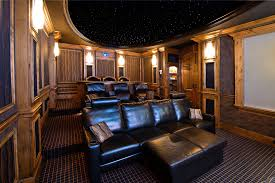 movie theatre entrance home theater traditional with cup holder led lighting bar top bar top lighting