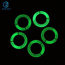 EGY Luminous Car <b>Auto Ignition Switch Keyhole</b> Ring Protector For ...