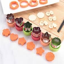 <b>3Pcs</b> Cake Cookies <b>Cutter</b> Flower Shape Mold Vegetable Carrot ...