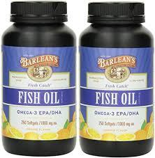 Barlean's <b>Fresh Catch Fish Oil</b>, 250 softgels/1000 mg Orange ...