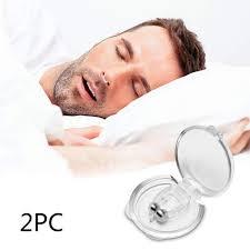 2PCS Anti Snoring Snore Free <b>Snore Stopper Silicone Nose</b> Clip ...