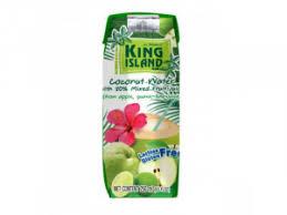 <b>Кокосовая</b> вода с <b>фруктовым</b> соком (лайм, гуава, яблоко), 250 мл ...
