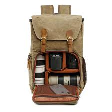 Photo <b>Backpack</b> Waterproof Nylon Case fit Laptop Bag for Canon ...