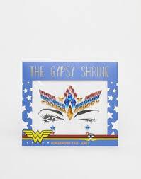 <b>Стразы для лица</b> на Хэллоуин The Gypsy Shrine x Warner Brothers