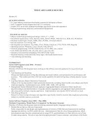 Resume Examples Related Skills Example Of Resume With Skills Section Resume Skills Summary Skill List Resume