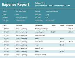 Image result for expense report template images