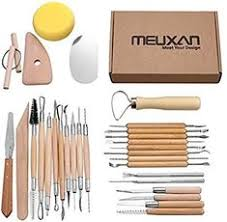 Aisamco <b>40 Pcs</b> Ceramic <b>Clay</b> Tools Kit <b>Pottery</b> Sculpting Tools Set ...