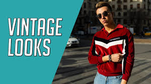 3 <b>Vintage</b> Inspired Looks <b>50s 60s</b> 70s Men's Style || Gent's Lounge ...