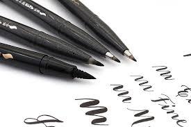 Ручка - <b>кисть Brush Sign</b> Pen, Fine черная 0,3мм PNLXSES15NFA ...