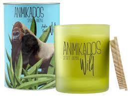 Купить <b>Свеча ароматическая Ambientair Gorilla</b> - амбровый Wild ...