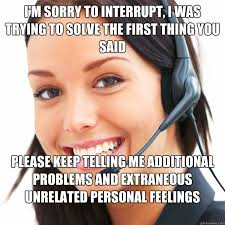 good call center girl memes | quickmeme via Relatably.com