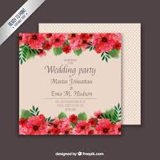 floral wedding card template vector free download Free Printable Wedding Cards Download floral wedding card template free vector free printable wedding invitations templates downloads