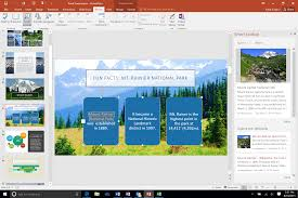 microsoft office review it s all about collaboration pcworld office 2016 review powerpoint demo shot microsoft