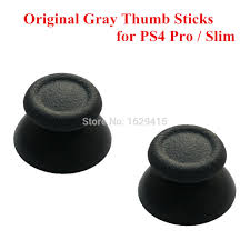 <b>2 pcs New Original</b> Gray 3D Analogue Thumbsticks for <b>Sony</b> ...
