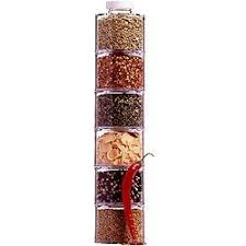 Prodyne <b>Spice</b> Tower Stacking Bottles with Sifter Lids (Set of 6 ...