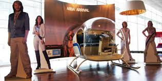 Take a selfie with the <b>ABBA</b> helicopter from the <b>Arrival</b> album ...