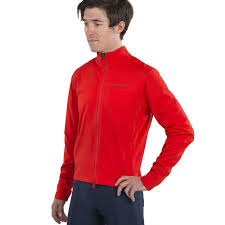 Pearl <b>iZUMi Mens</b> Interval AmFIB Cycling Jacket Torch Red Medium