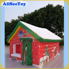 <b>Fast Delivery Inflatable Santa</b> House Christmas Inflatable Outdoor ...