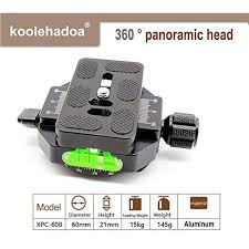 Koolehaoda 360° Panoramic Head <b>Professional Camera Tripod</b> ...
