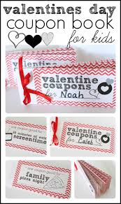 valentines day coupon book for kids i can teach my child printable valentines day coupon book for kids