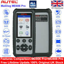 <b>Autel MaxiDiag MD806 Pro</b> OBD2 Auto Diagnostic Tool Scanner ...