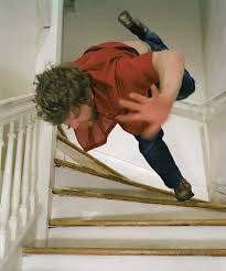 Falling Down The Stairs Fail | WeKnowMemes via Relatably.com