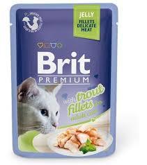 <b>Паучи Brit Premium Jelly</b> Fillets в желе для кошек 85 г - купить в ...