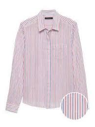 Quinn Straight-Fit Cotton-<b>Linen</b> Shirt | <b>Banana Republic</b>® EU