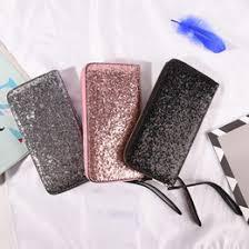 Black <b>Sequin Wallet</b> Online