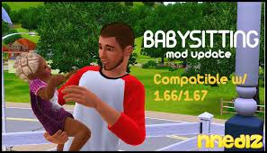 mod the sims babysitter mod advertisement