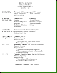 resume styleschrological resume