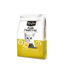 <b>Kit Cat Zeolite</b> Charcoal Green Tea Lust 4kg