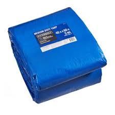 Everbilt <b>40</b> ft. <b>x 60</b> ft. Blue Medium Duty Tarp-PY007 - The Home Depot