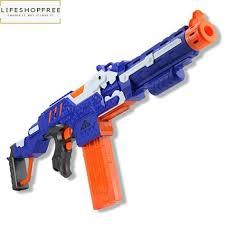 Toy Gun Plastic <b>Electric Soft</b> Bullet <b>Bursts</b> For Outdoor Nerf Shooting ...
