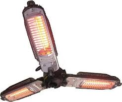 output stainless patio heater: ener g hea  p trio patio heater by ener g foods
