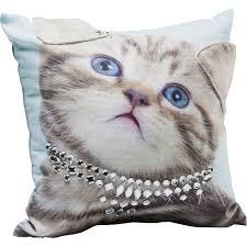 "<b>Подушка Lady Cat</b>, коллекция ""Леди-кошка"" 45*10*45, Полиэстер ..."