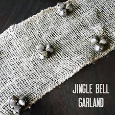 Jingle Bell Garland Make Jingle Bell Burlap Garland
